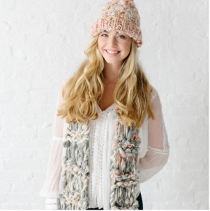 Marled Cocoon Scarf