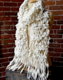 Wrapped Cocoon Scarf